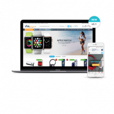 Multi-Vendor шаблон Шаблон VIVAshop Multi-Vendor