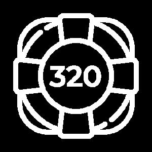 320 кредитов поддержки