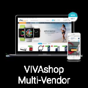 Multi-Vendor шаблон Шаблон VIVAshop Multi-Vendor